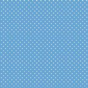 Spot by Makower UK - 5361 - White Spots on Cobalt Blue - 830_B64 - Cotton Fabric